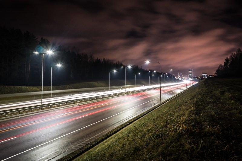 autostrada lampioni