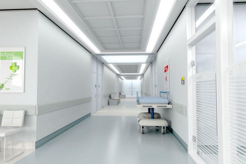 interno di ospedale
