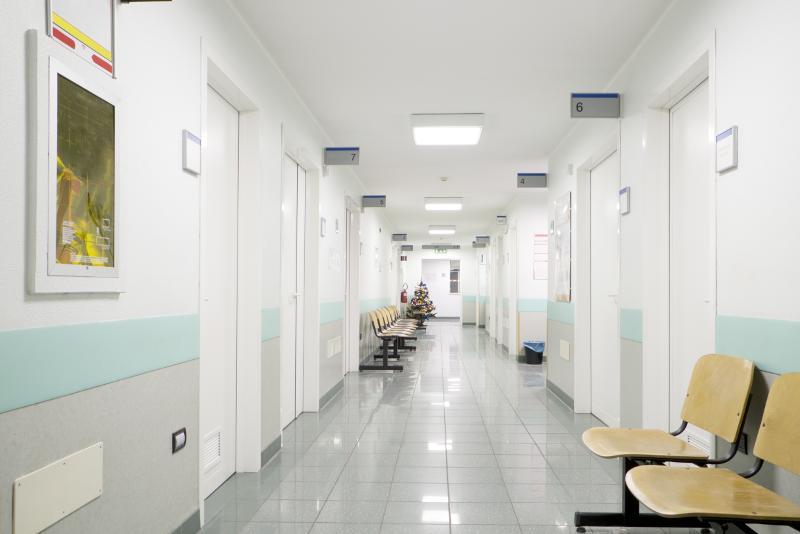 ospedale sala d'attesa