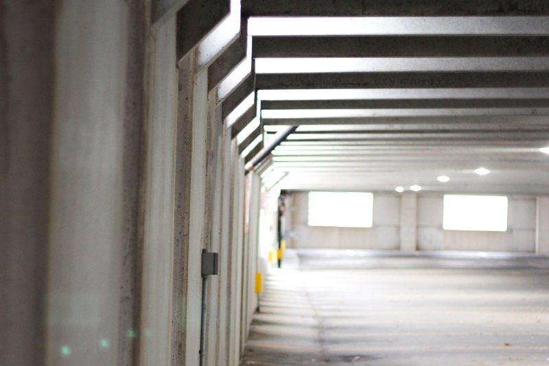 parcheggio chiuso