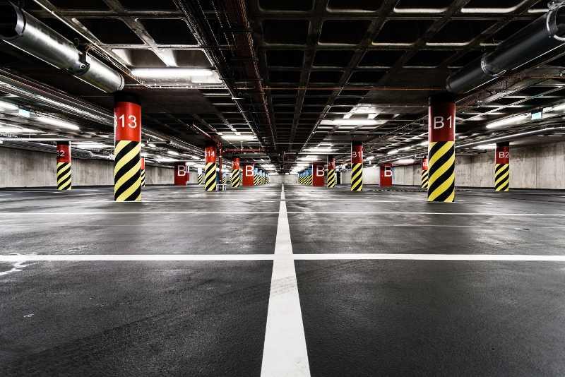 Parcheggio sotterraneo interno