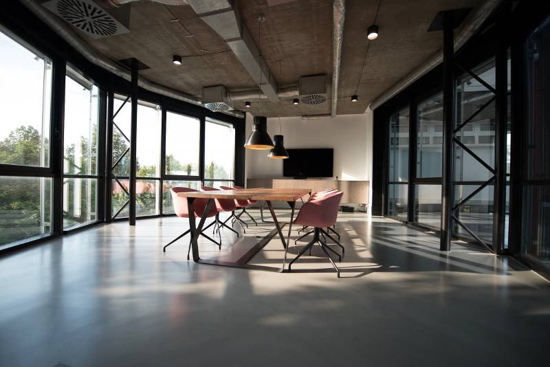 sala riunioni loft