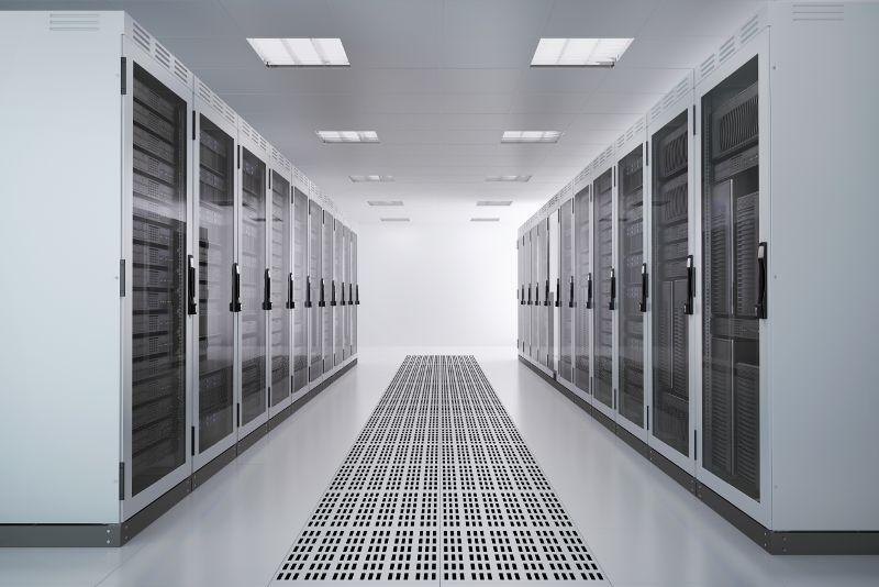 sala server illuminazione